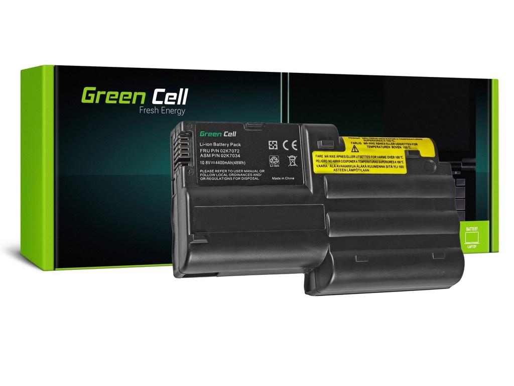 Baterija Green Cell za Lenovo ThinkPad T30 / 11,1V 4400mAh