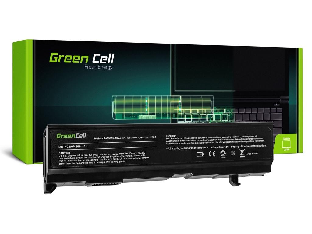Baterija Green Cell za Toshiba Satellite A80 A100 A105 M40 M50 Tecra A3 A6 / 11,1V 4400mAh