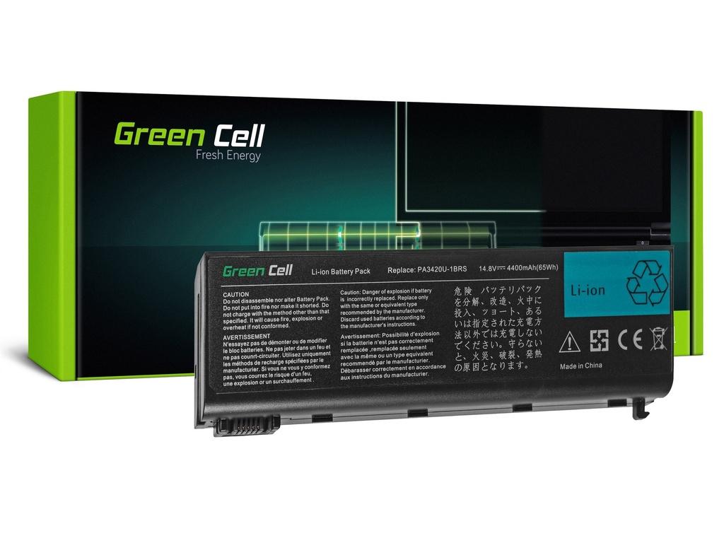 Baterija Green Cell za Toshiba Satellite L10 L15 L20 L25 L30 L35 L100 / 14,4V 4400mAh