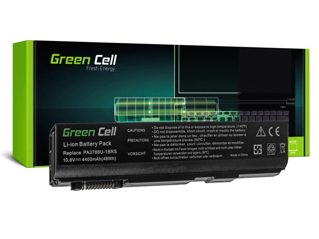 Baterija Green Cell za Toshiba DinaBook Satellite L35 L40 L45 K40 B550 Tecra M11 A11 S11 S500 / 11,1V 4400mAh