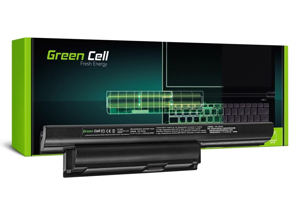 Baterija Green Cell za Sony Vaio PCG-71211M PCG-61211M PCG-71212M / 11,1V 4400mAh