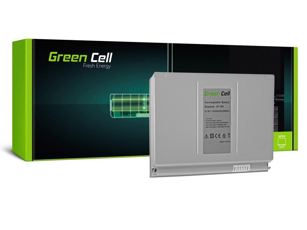Baterija Green Cell za Apple Macbook Pro 17 A1151 A1212 A1229 A1261 (2006, 2007, 2008) / 11,1V 6300mAh