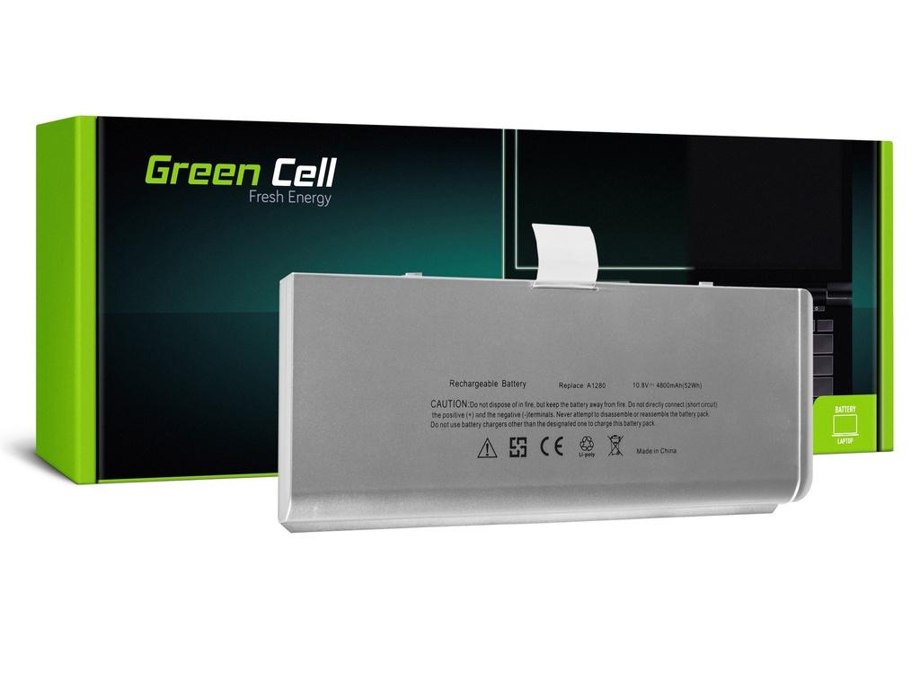 Baterija Green Cell za Apple Macbook 13 A1278 Aluminum Unibody (kraj 2008) / 11,1V 4200mAh