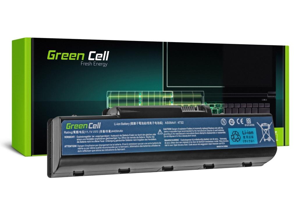 Baterija Green Cell za Acer Aspire AS09A41 AS09A51 5532 5732Z 5734Z / 11, V 4400mAh