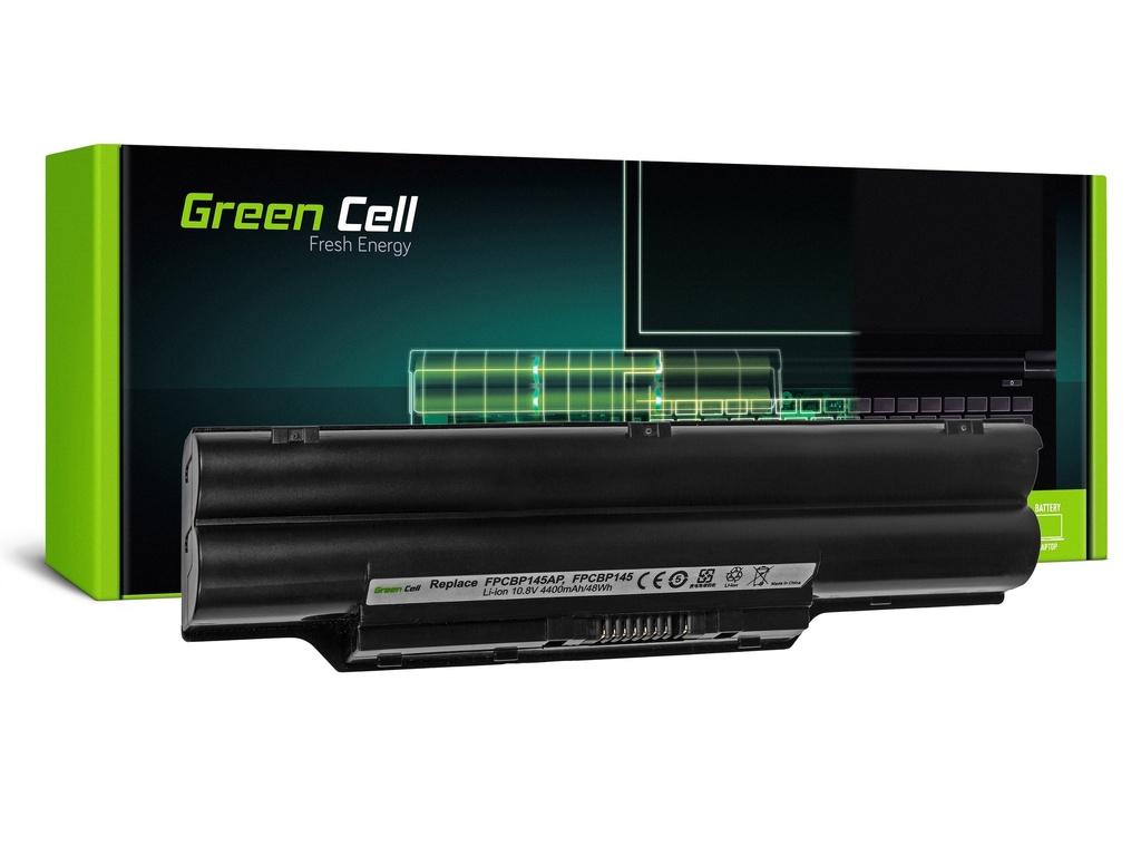Baterija Green Cell za Fujitsu-Siemens Lifebook S2210 S6310 L1010 P770 / 11,1V 4400mAh