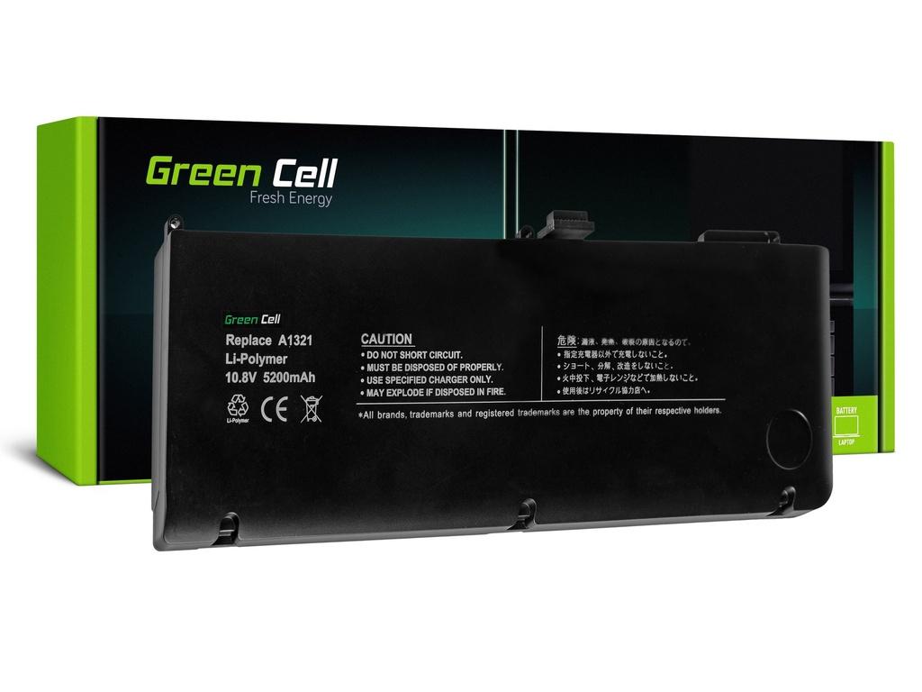 Baterija Green Cell za Apple Macbook Pro 15 A1286 2009-2010 / 11,1V 5200mAh