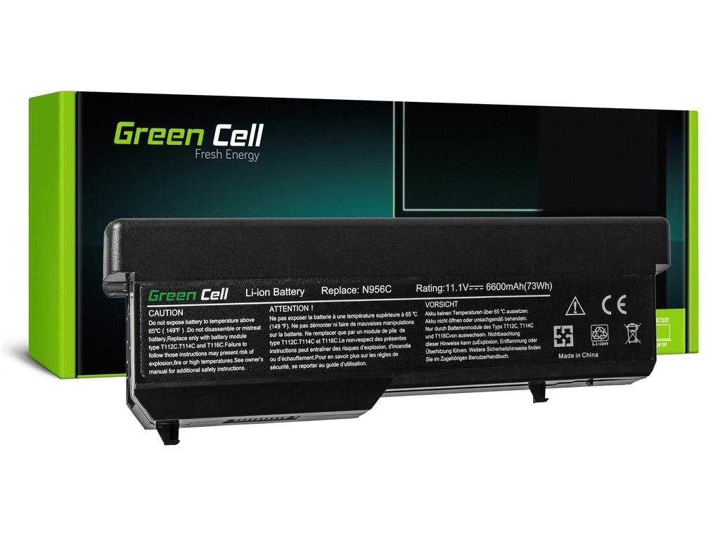 Baterija Green Cell za Dell Vostro 1310 1320 1510 1511 1520 2510 / 11,1V 6600mAh