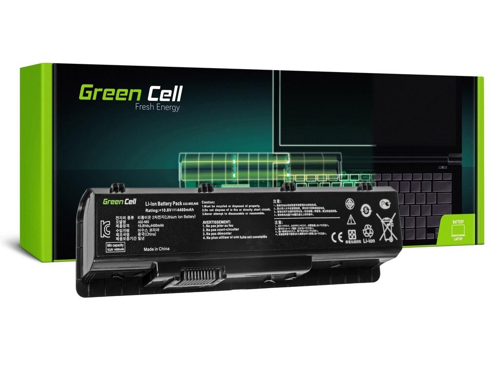 Baterija Green Cell za Asus N45 N55 N55S N75 N75E N75S / 11,1V 4400mAh