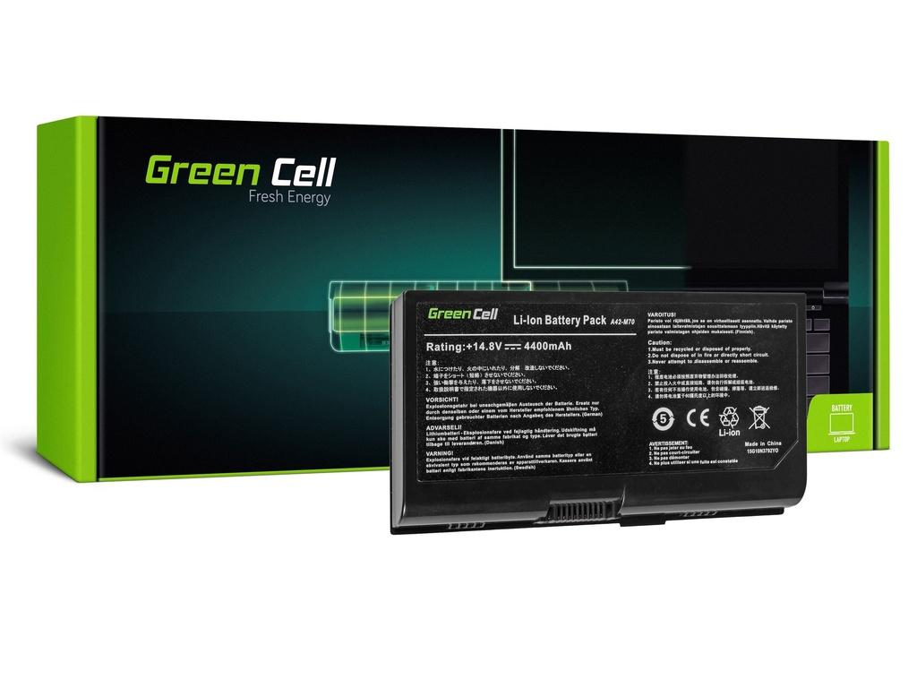 Baterija Green Cell za Asus G71 G72 F70 M70 Ks71 / 14,4V 4400mAh