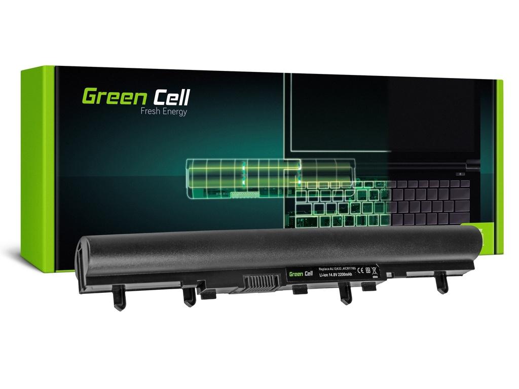 Baterija Green Cell AL12A32  za Acer E1-522 E1-530 E1-532 E1-570 E1-572 V5-531 / 14,4V 2200mAh