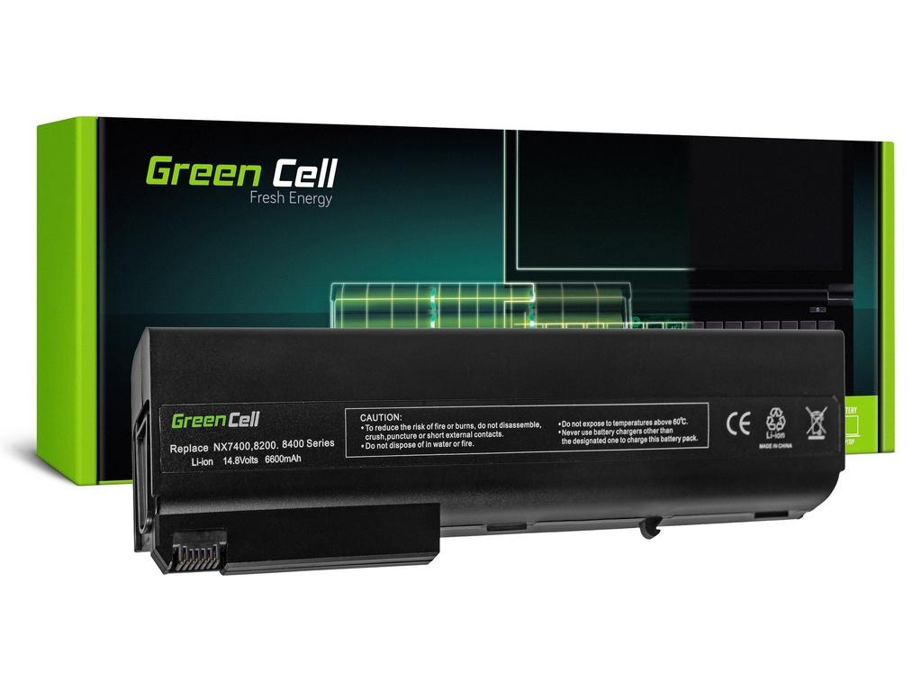 Baterija Green Cell za HP Compaq NX7300 NX7400 8510P 8510W 8710P 8710W / 11,1V 6600mAh