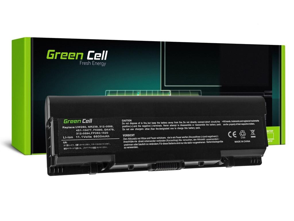 Baterija Green Cell za Dell Inspiron 1500 1520 1521 1720 Vostro 1500 1521 1700L / 11,1V 6600mAh