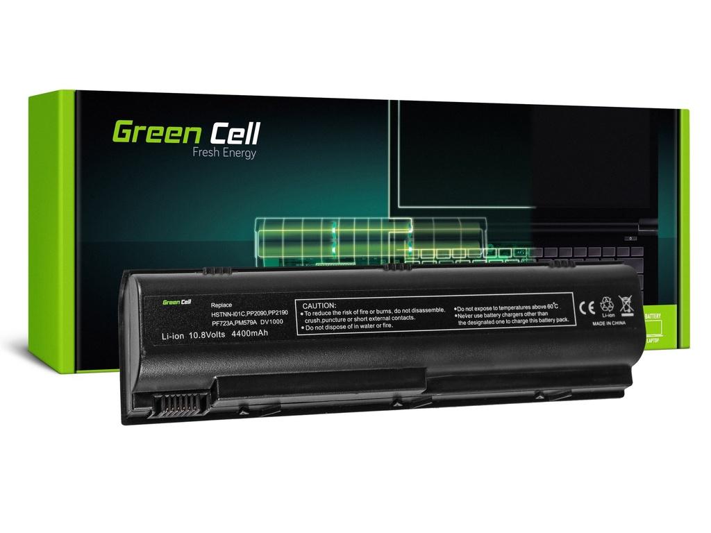 Baterija Green Cell za HP Pavilion DV1000 DV4000 DV5000 G1 / 11,1V 4400mAh