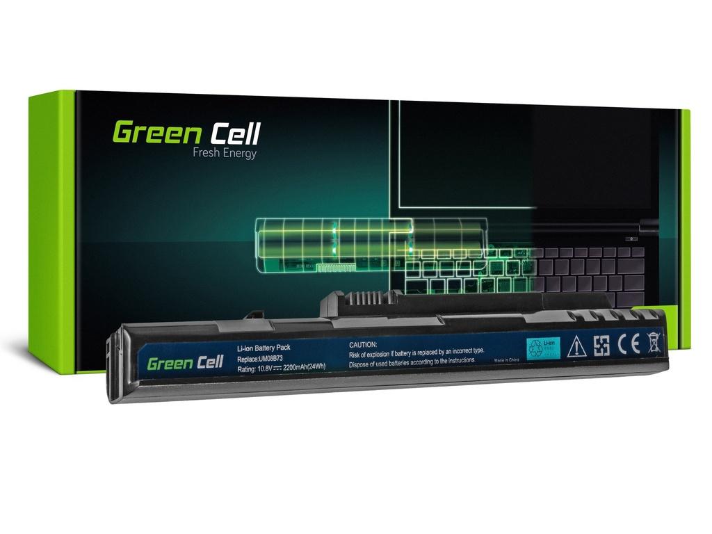 Baterija Green Cell za Acer Aspire One A110 A150 D150 D250 ZG5 / 11,1V 2200mAh