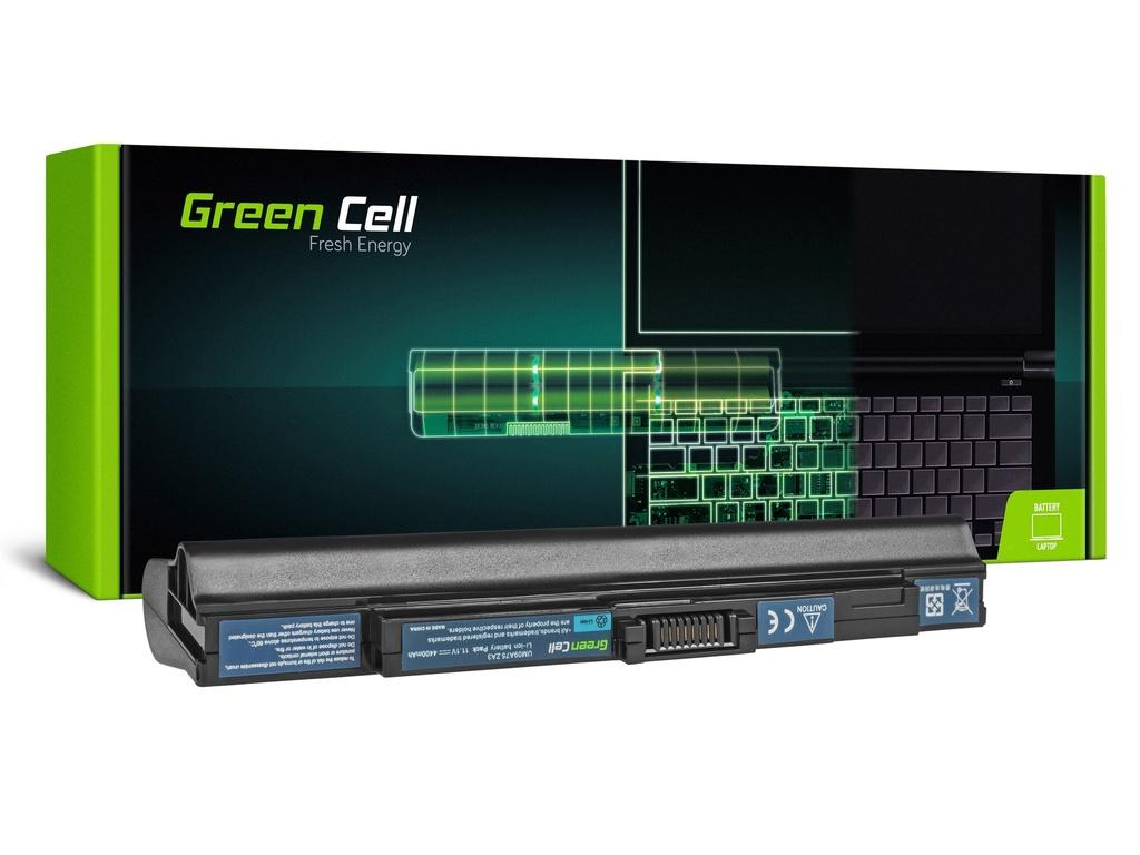 Baterija Green Cell za Acer Aspire One 531 531H 751 751H ZA3 ZG8 / 11,1V 4400mAh