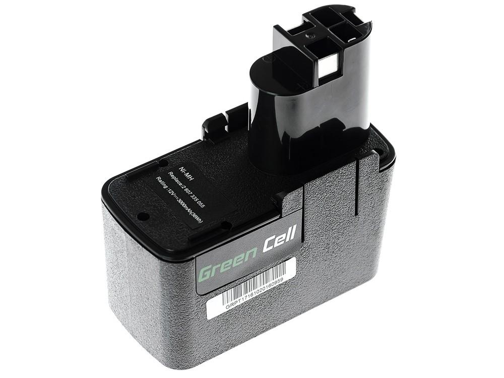 Baterija za električne alate za Bosch 3300K PSR 12VE-2 GSB 12 VSE-2