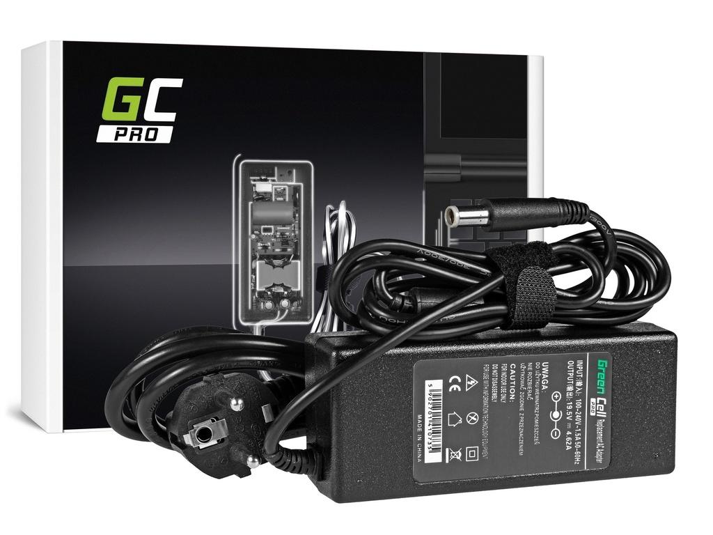 AC adapter za punjač Green Cell PRO za Dell 90V 19.5V 4.62A / 7.4mm-5.0mm
