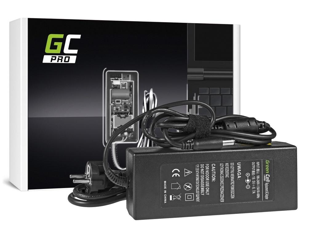 AC adapter za punjač Green Cell PRO za Dell 130V / 19.5V 6.7A / 7.4mm-5.0mm