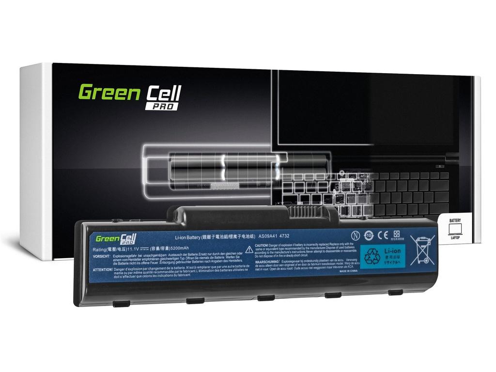 Baterija Green Cell PRO za Acer Aspire AS09A41 AS09A51 5532 5732Z 5734Z / 11, V 5200mAh