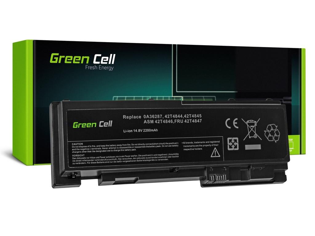 Baterija Green Cell za Lenovo ThinkPad T420s T420si / 14,4V 2200mAh