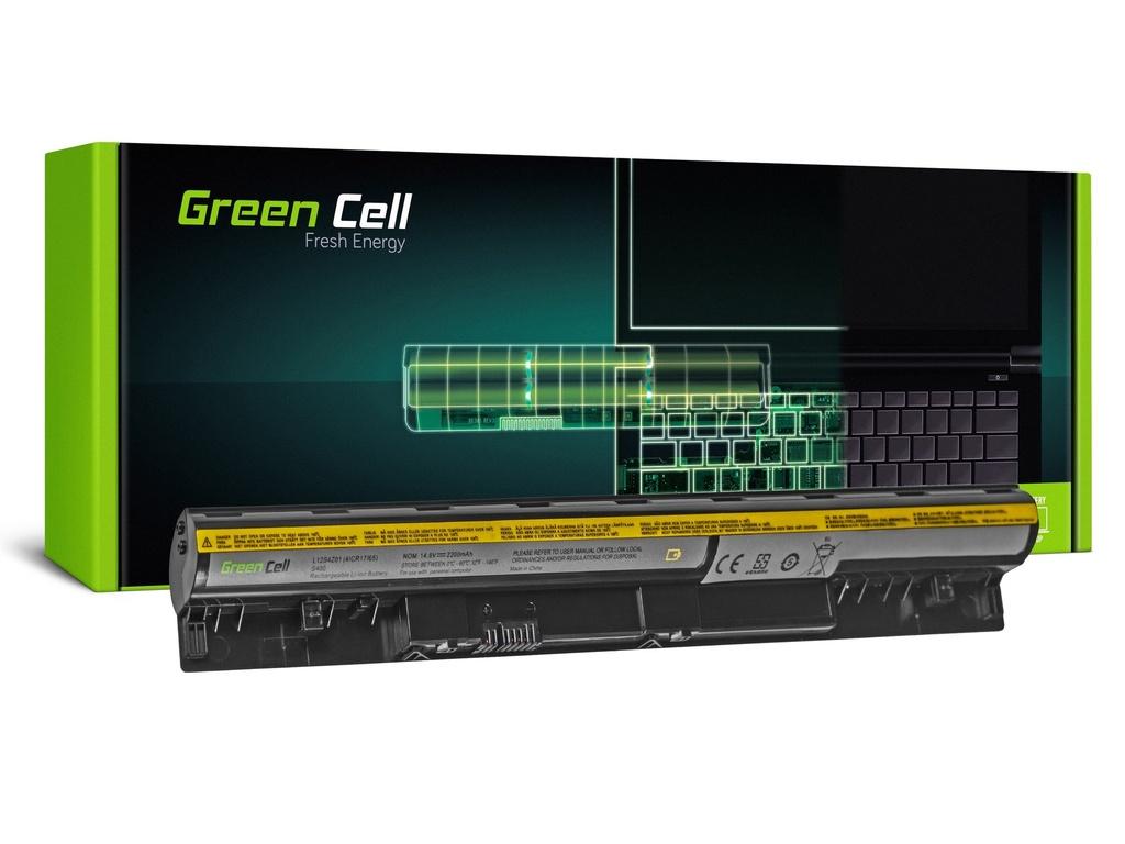 Baterija Green Cell za Lenovo IdeaPad S300 S310 S400 S400U S405 S410 S415 (crna) / 14,4V 2200mAh