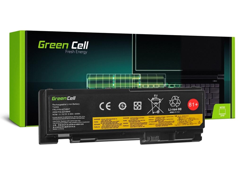 Baterija Green Cell za Lenovo ThinkPad T420s T420si / 14,4V 3600mAh