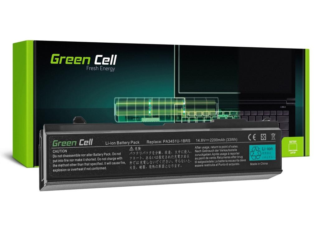 Baterija Green Cell za Toshiba Satellite A85 A110 A135 M40 M50 M70 / 14,4V 2200mAh