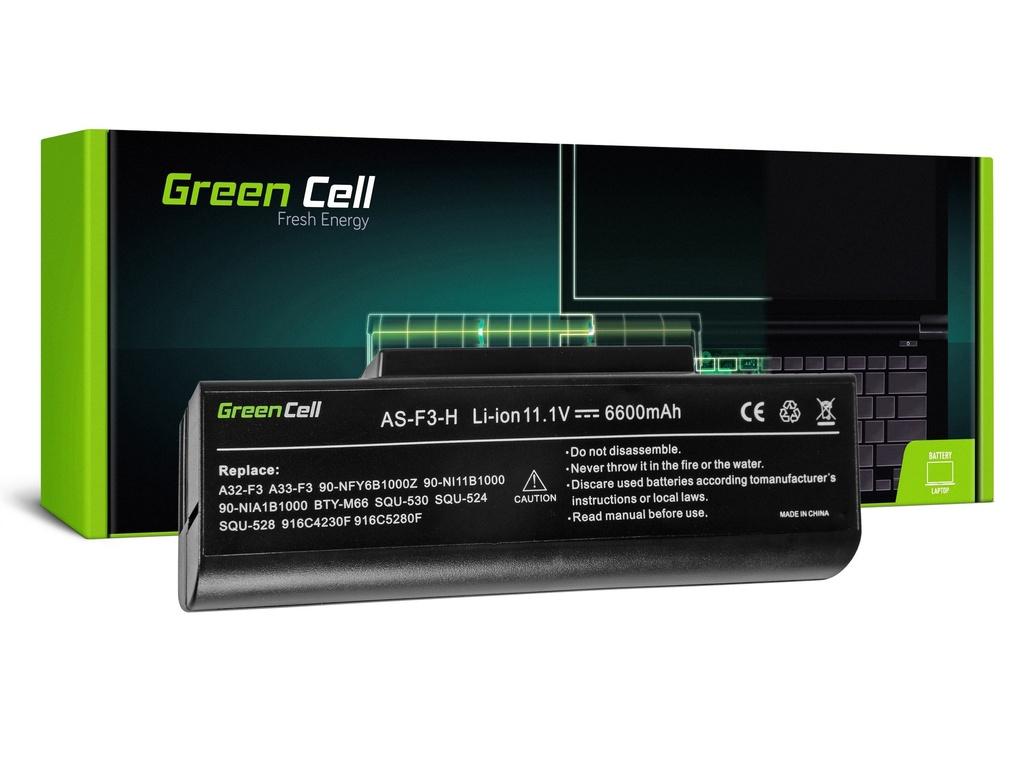 Baterija Green Cell za Asus F2 F2J F3 F3S F3E F3F F3K F3SG F7 M51 / 11,1V 6600mAh