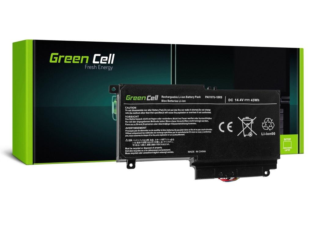 Baterija Green Cell za Toshiba Satellite L50-A L50-A-19N L50-A-1EK L50-A-1F8 L50D-A P50-A S50-A / 14,4V 2838mAh