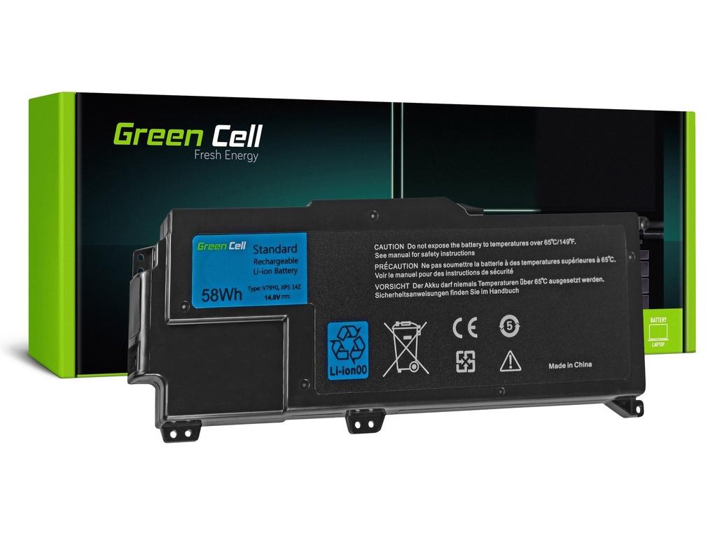 Baterija Green Cell za Dell XPS 14Z L412Z / 14,4V 3900mAh