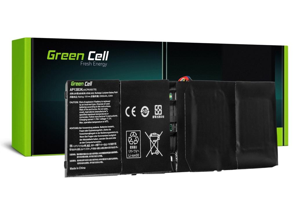 Baterija Green Cell za Acer Aspire V5-552 V5-572 V5-573 V7-581 R7-571 / 15V 3400mAh