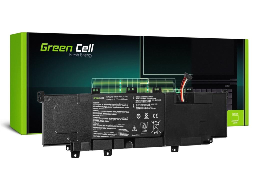 Baterija Green Cell za Asus VivoBook S300 S300C S400 S400C X402 X402C / 11,1V 3500mAh