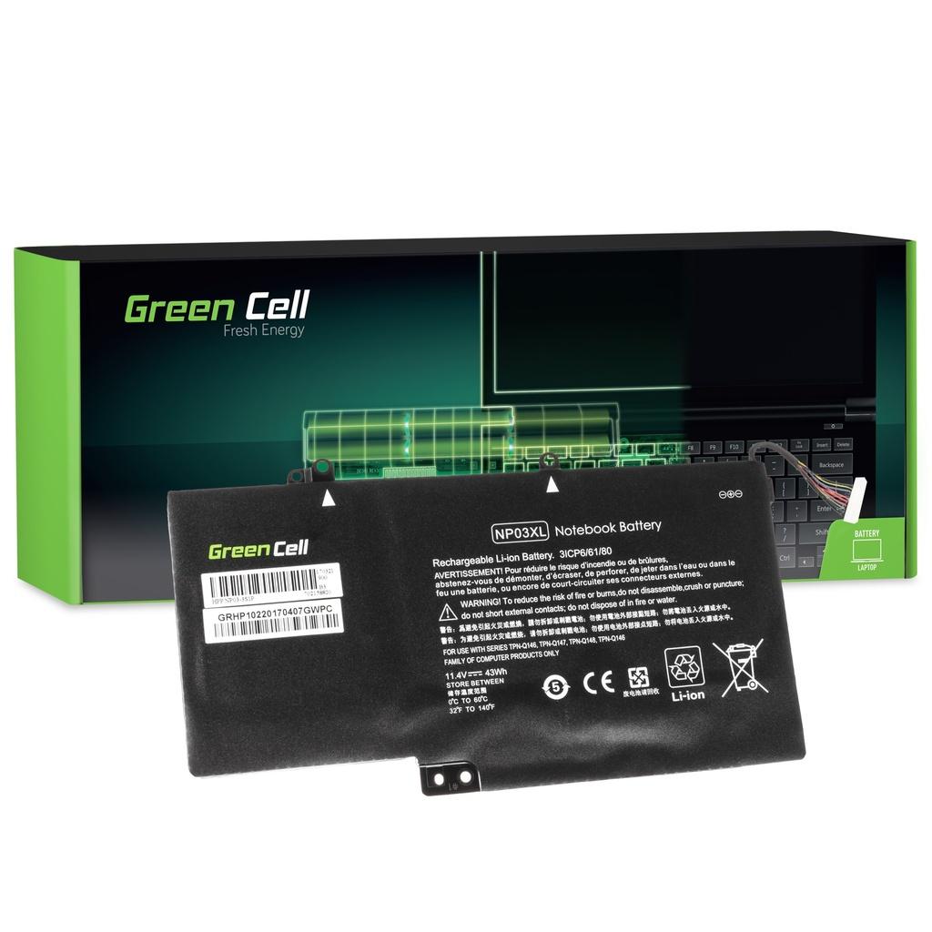 Baterija Green Cell za HP Pavilion x360 13-A 13-B / 11,4V 3400mAh