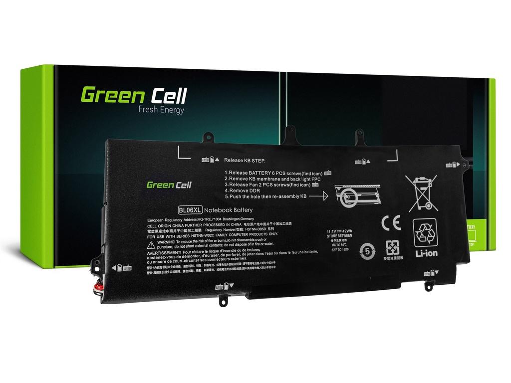Baterija Green Cell za HP EliteBook Folio 1040 G1 G2 / 11,1V 3100mAh