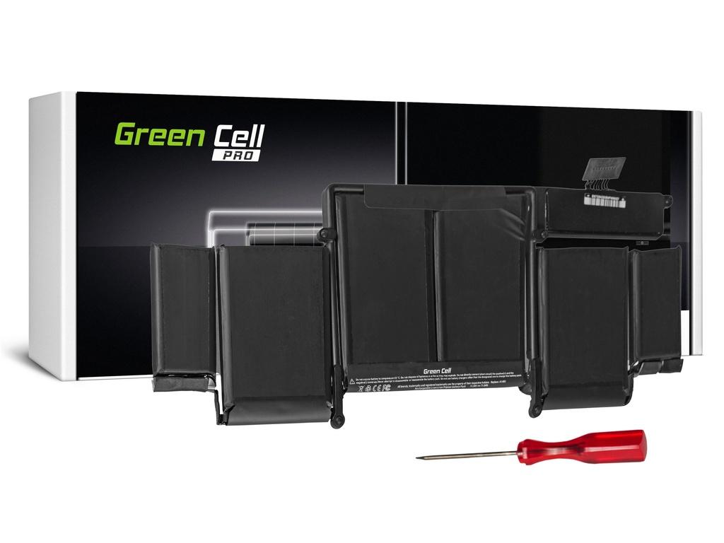Baterija Green Cell PRO za Apple Macbook Pro 13 A1502 (kraj 2013., sredina 2014.) / 11,34V 6350mAh