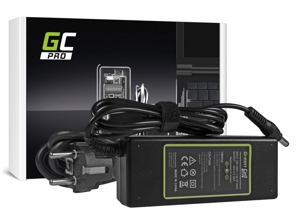 AC adapter za punjač Green Cell PRO za Toshiba Asus 75V / 19V 3.95A / 5.5mm-2.5mm