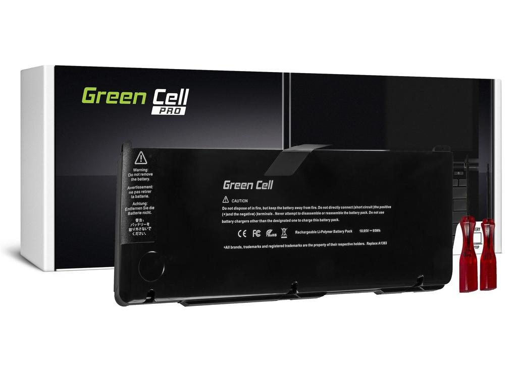 Baterija Green Cell PRO za Apple Macbook Pro 17 A1297 2011 / 10,95V 8700mAh