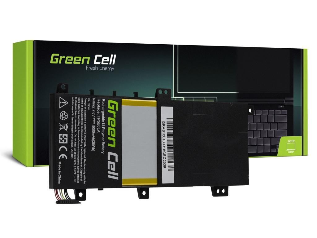 Baterija Green Cell za Asus Transformer Book Flip TP550 TP550L / 7,6V 5000mAh
