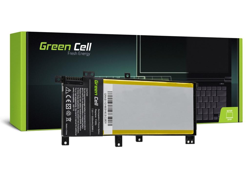 Baterija Green Cell za Asus F455L K455L R455L Ks455L / 7,6V 5000mAh