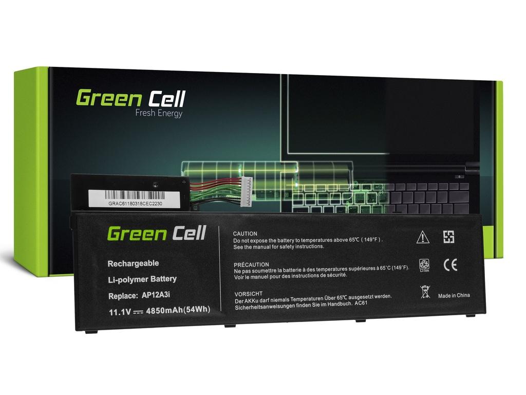 Baterija Green Cell za Acer Aspire Timeline Ultra M3 M5 / 11,1V 4850mAh