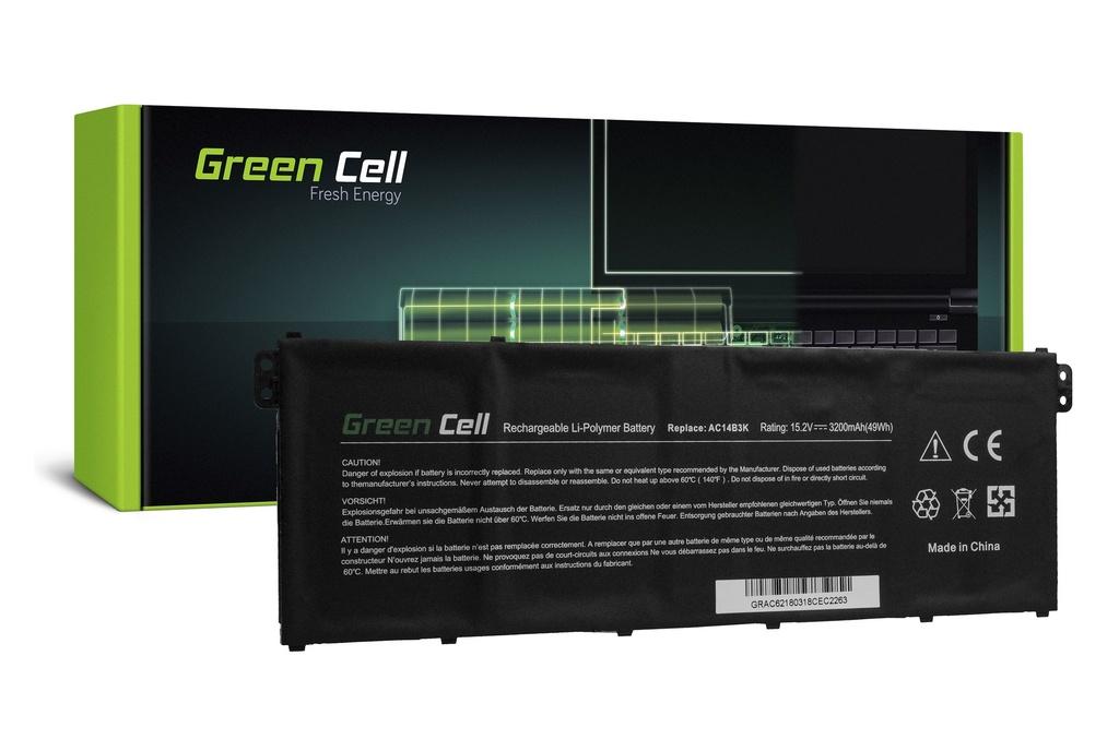 Baterija Green Cell za Acer Aspire 5 A515 A517 E15 ES1-512 ES1-533 / 15,2V 3000mAh