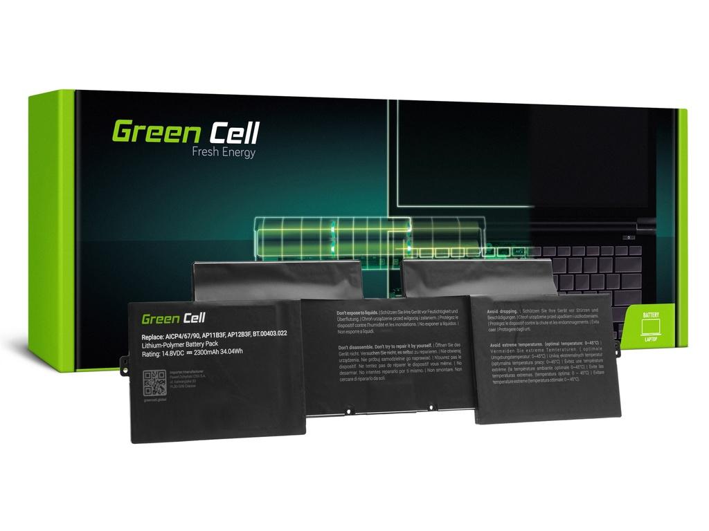 Baterija Green Cell za Acer Aspire S5-391 AP12B3F / 14,4V 2300mAh