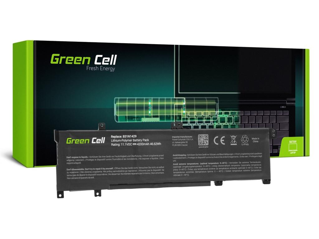 Baterija Green Cell za Asus A501L K501L K501U / 11,1V 3400mAh