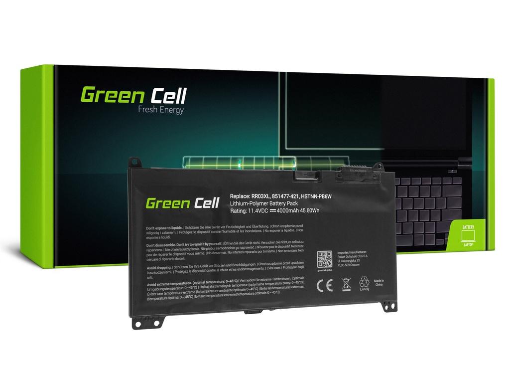 Baterija Green Cell za HP ProBook 430 440 450 455 470 G4 G5 / 11,4V 4000mAh