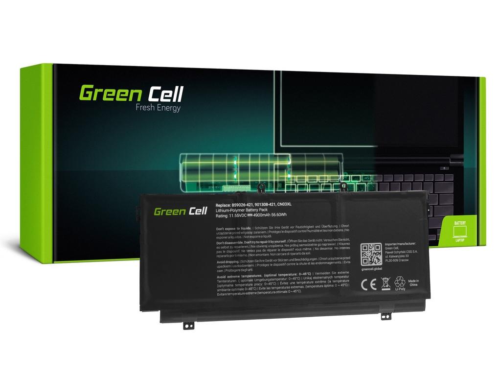 Baterija Green Cell za HP Envy 13 13T / 11,55V 4900mAh