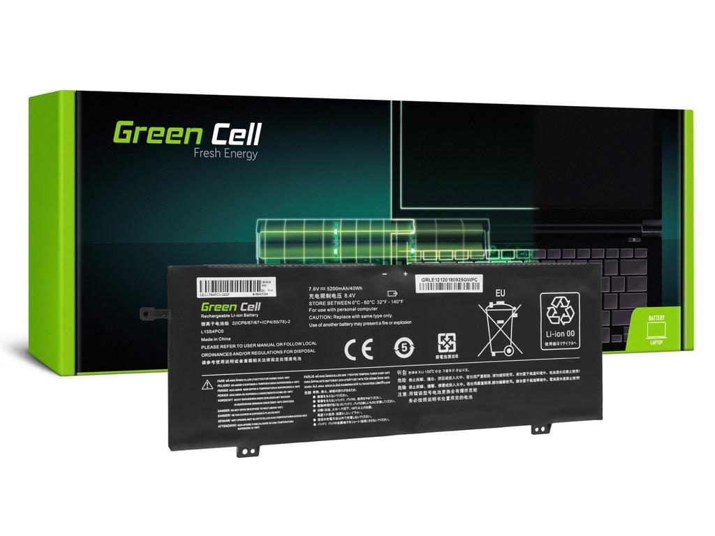 Baterija Green Cell za Lenovo V730 V730-13 Ideapad 710s Plus 710s-13 / 7,6V 3200mAh