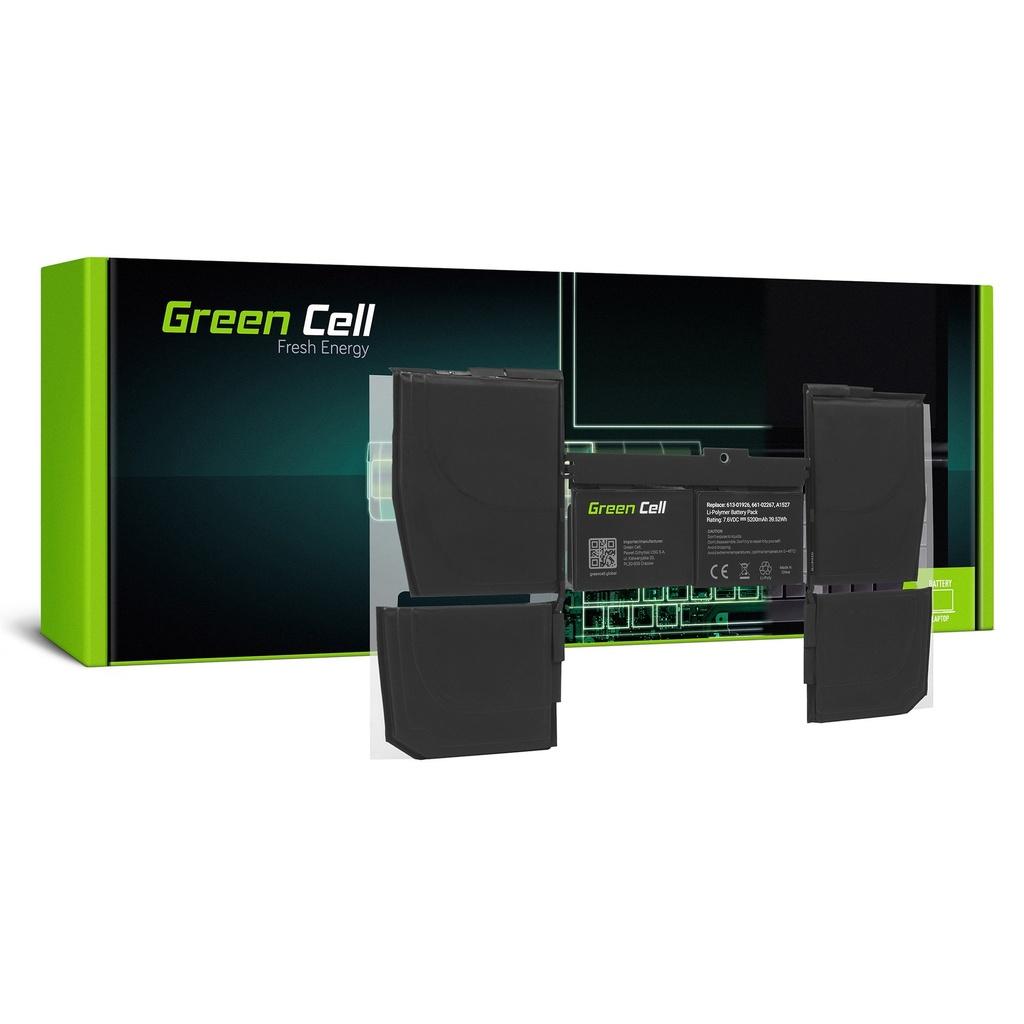 Baterija Green Cell za Apple MacBook 12 A1534 (početak 2015., početak 2016., sredina 2017.) / 7,6V 5200mAh