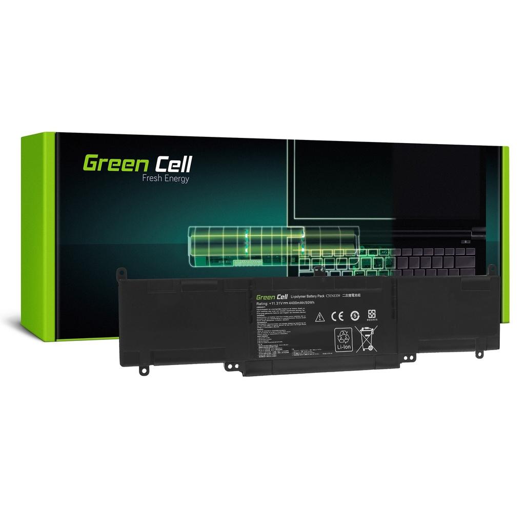 Baterija Green Cell C31N1339 za Asus ZenBook UKS303 UKS303U UKS303UA UKS303UB UKS303L  Transformer Book  TP300L TP300LA TP300LD TP300LJ