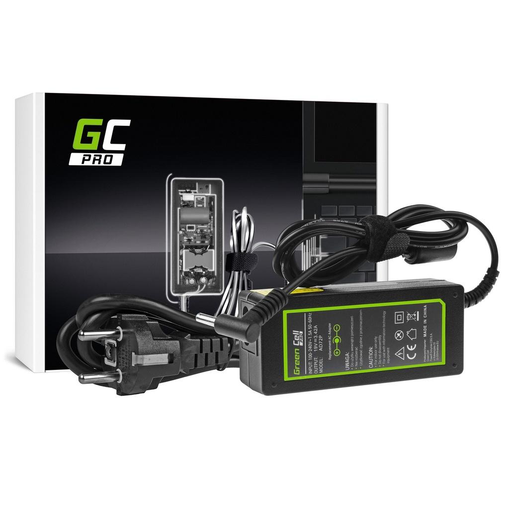 AC adapter Green Cell PRO 19V 3.42A 65V za AsusPro BU400 BU400A PU551 PU551L PU551LA PU551LD PU551J PU551JA