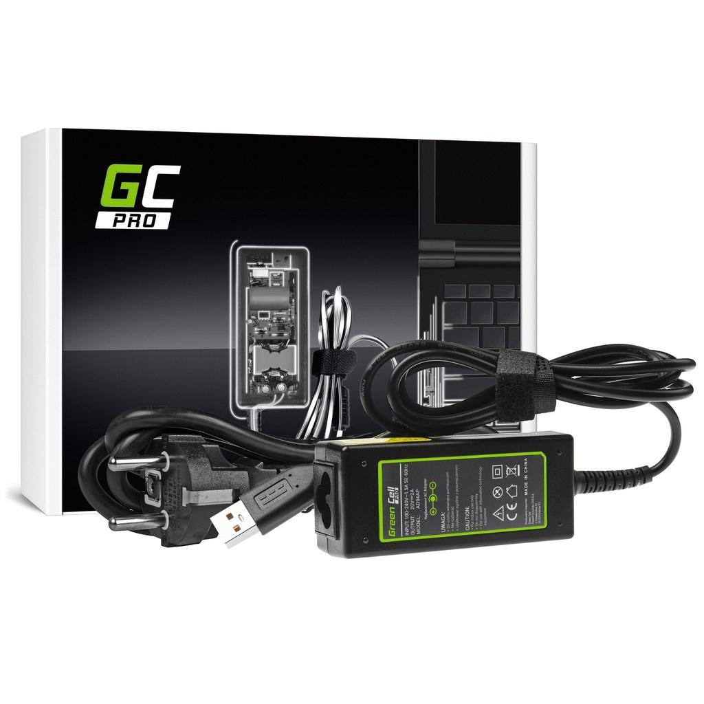 AC adapter Green Cell PRO 20V 2A 40V za Lenovo Ioga 3 i Lenovo Ioga 3 PRO